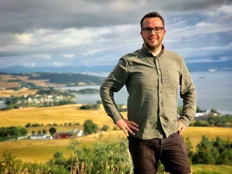 REDAKTØRJOBB: Sandvollingen Lorns Bjerkan er ansatt som redaktør for nettavisen Steinkjer24 og begynner i stillingen i løpet av høsten.