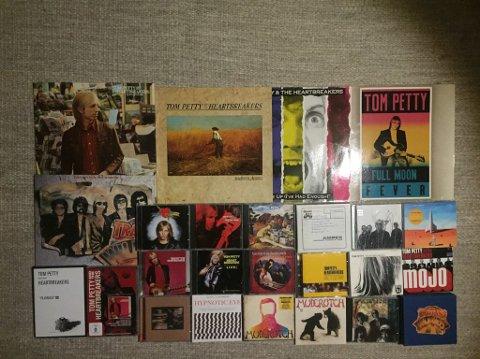 PRODUKTIVITET: Tom Petty etterlater seg litt av en musikalsk arv: Foto: Anders Christensen