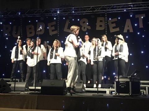 GA ALT: Marianne Solli og Rubbel og Beat ga alt på sin aller siste konsert i Søndrehallen. BEGGE FOTO: SIDSEL GULBRANDSEN