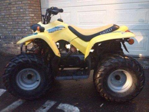Kom til rette: Det var en slik ATV som ble stjålet på Aursmoen natt til tirsdag.
