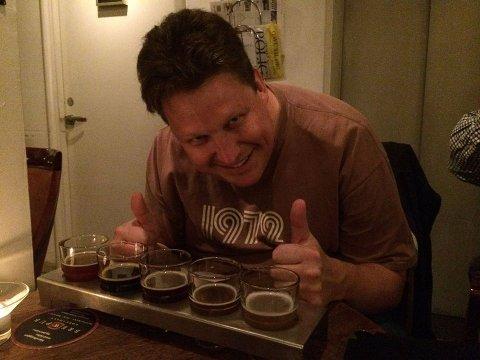 KVALITETSBRYGG: Øl skal smake godt.