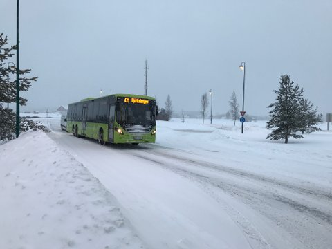 Forsinkelser: Det er krevende for kollektivtrafikken i dag.