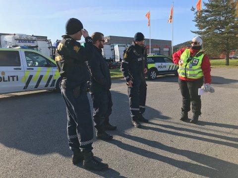 LETEAKSJON: Det søkes etter en savnet mann i Kongsvinger søndag.