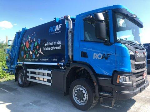 Noen av de nye bilene går på biogass laget av matavfall.