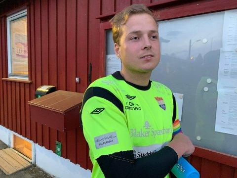 – Jeg synes det er veldig sterkt av oss å komme tilbake på overtid, sier SIF-keeper Kristian Bekkevold Lillebo etter lokaloppgjøret mot Fet. Arkivfoto: Simon Kolstad Claussen