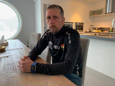 FORNØYD: Sørumsands trener Per Einar Gjelsvik var veldig fornøyd med at laget hans endelig fikk utteling for sitt gode spill.