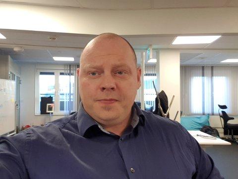 Jarle Adolfsen fra Momoen har tatt noen sjanser i arbeidslivet og angrer ikke på det. Foto: Privat