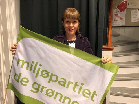 ØNSKER SEG MER ULV: MDG-politiker Eline Stangeland i Lillestrøm.