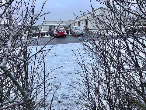 Det blåste godt i natt, og kom litt snø i morges, men ingen av delene har bydd på problemer langs lokalveiene, ifølge byggeleder Tore Dyrseth i Viken fylkeskommune.