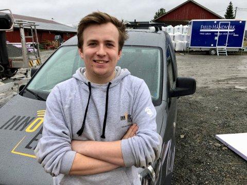 NY SEIER: Marcus Jøsang Møller (21) vant over Fjelltind Service i Nedre Romerike tingrett. Det betyr at han ikke må betale bompengeregningen og påfølgende gebyrer på over 7.000 kroner.
