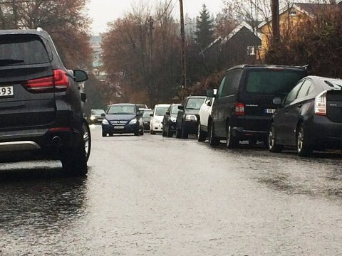 UNDERKJØLT REGN: – Det kan absolutt bli litt utfordrende kjøreforhold, så det er lurt å være litt ekstra påpasselig, konstaterer vakthavende meteorolog Martin Granerud.