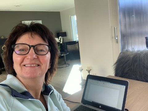 Generalsekretær Inger Lise M. Nøstvik i Drivkraft Norge har hjemmekontor i Aurskog.