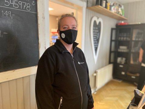 TØFF TID: Som en siste utvei har Trine Slemdal Sigvartsen solgt deler av firmaet. Pandemien har truffet dem hardt.