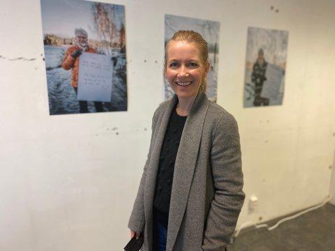 BYR PÅ LIVSERFARING: Fotograf Karianne Moe Tørum har i løpet av vinteren snakket med og avbildet mange pensjonister. Målet er å oppmuntre dagens unge.
