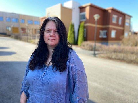 Flytter til skogs: Beate Buberg fra Løken selger leiligheten i Fetsund og flytter til skog og mark i Ørje.