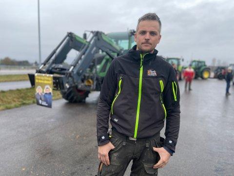 FRYKTER FOR FREMTIDEN: Kai Helge Eid Fjuk frykter for rekrutteringa innen landbruket om ikke inntektsforskjellene minsker snart.