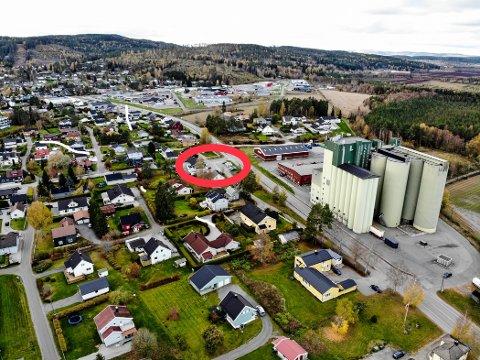 Politikerne er positive til fortetting av sentrumseiendom på Bjørkelangen.