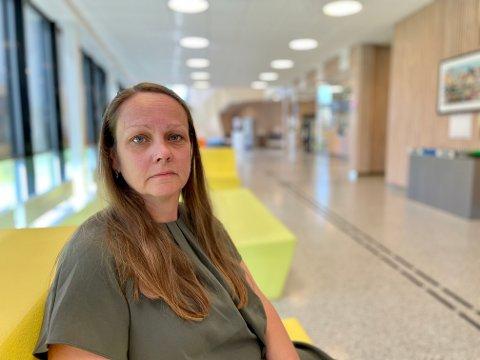 Else Marie Stuenæs fra Løken endte på legevakta etter en kraftig allergisk reaksjon.