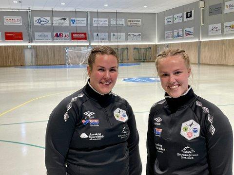 Lise Bergan-Foss (t.v.) og Hanne Fjellheim.