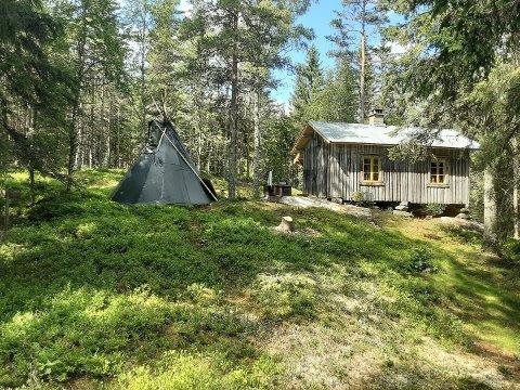 Urdvass-seter ligger i Setskog. Gjermund Skullerud Næss har satt i stand den vesle hytta, som skal ha blitt flyttet hit fra Mangen cirka 1830. Nå blir det nytt liv her.