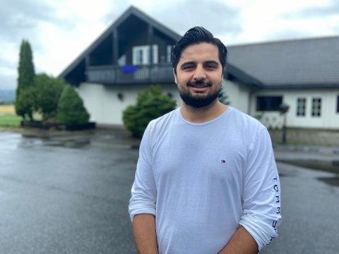 MANGE PLANER: Aemal Omari har mange planer for Aur Gjestegård.