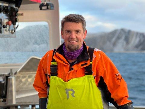 PRISVINNER: Daniel Lauritzen fra Kjøllefjord er Årets kvalitetsfisker 2021.