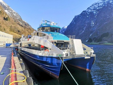FLERE BÅTER: Verftet Brødrene Aa har levert flere båter til Nordland fylkeskommune. MS Regine Normann og MS Elsa Laula Renberg er levert tidligere og i juni kommer MS Sigrid Sigurdsdotter.