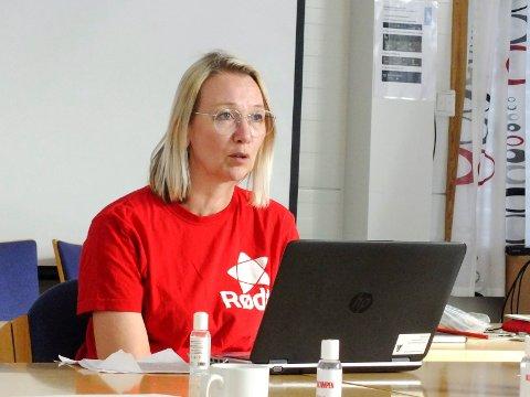 FORNØYD: Varaordfører i Alstahaug, Hanne Benedicte Wiig, kom ikke inn på Stortinget i denne omgang.