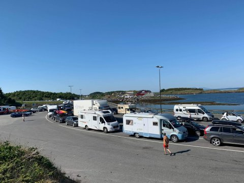 Økt kapasitet: På Tjøtta – Forvik planlegges det med en totalkapasitet lik 2020, mens på Igerøy – Tjøtta (bildet) dobles fergekapasiteten i sommer.