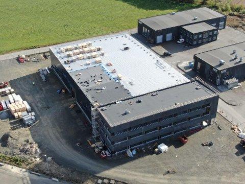 BLIR STØRRE: Nordic Steel som har kjøpt IKM Stainless Technology, vil være på plass i ny fabrikk på Håland utenfor Bryne innen desember 2019. Produksjonslokalene på Øksnevad er blitt for små for et Nordic Steel AS i vekst.