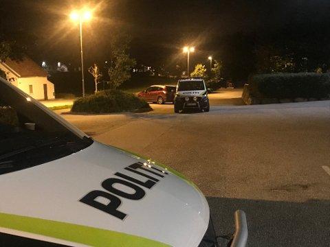 BRYLLUPSDRAMA: Politiet måtte rykke ut til Pollestad natt til søndag 8. september og ta hånd om 19-åringen som angrep tre personer i et bryllup på samfunnshuset.