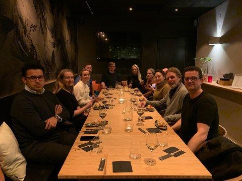 GODT LAG: Restauranteiere og kjøkkensjefer fra de forskjellige serveringsstedene som deltar på Livsgledesløyfa var i januar ute og testet samtlige retter i løypen.
