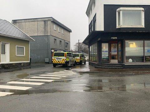 AKSJON: Politiet har en pågående væpnet aksjon i Nærbø sentrum.