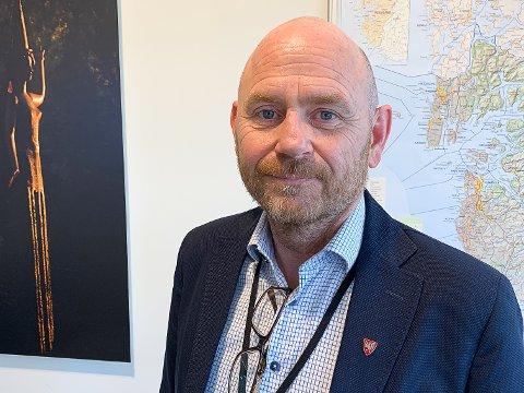 FLYTTA UT: Trygve Apeland, rådmann i Time kommune, gjer mykje for å sleppa å bli sjuk, blant anna å flytta midlertidig frå kona.