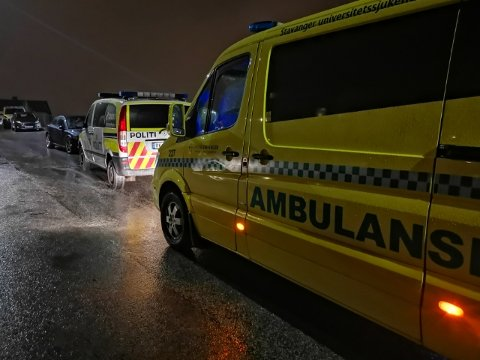 Natt til søndag rykket politi og ambulanse ut til Ålgård etter å ha fått melding om vold.