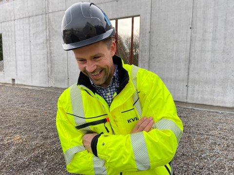 NY DAGLIG LEDER: Styreleder og konsernsjef Atle Kvia overtar som daglig leder av Kvia Entreprenør AS på Nærbø.