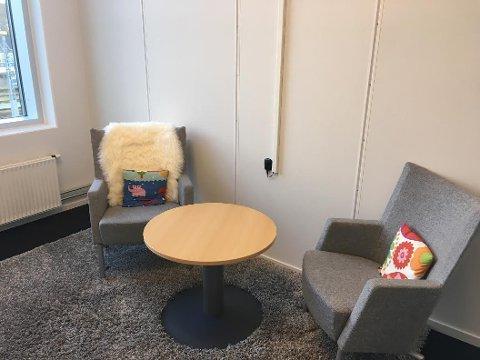 AVHØRSROM: Tilrettelagt avhør blir brukt for at barn og andre sårbare skal slippe den belastningen som det er å bli avhørt under en rettssak. Ved Barnehuset i Stavanger er det fire avhørsrom.