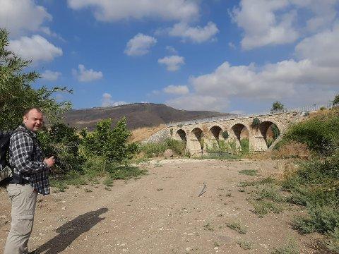 VARMT: I Galilea har det de siste dagene vært temperaturer opp mot 40 grader.