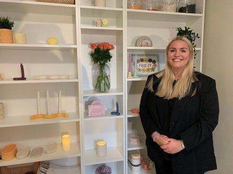 Gründer Solveig Stokka Eltervåg startet for seg selv under koronapandemien. Nå har hun flere tusen følgere på sosiale medier, og interiørproduktene hun lager har raskt blitt populære.