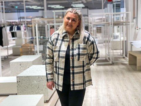 DRØM: Ida Homme Sandvold har lang erfaring i Cubus-konsernet, men har alltid drømt om å bygge opp en butikk fra start. På Jærhagen fikk hun muligheten.