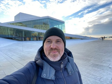 JOBB: Operaen er nå blitt Magnus Staveland sin arbeidsplass på permanent basis. Nå vil han gi opera til folket.