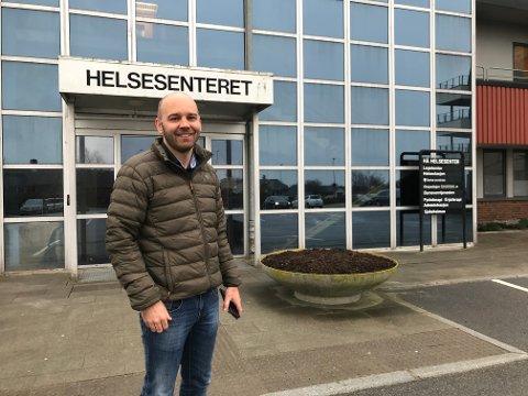 KOMMUNEOVERLEGE: Anders G. Madsen har sett fram til å få prøva seg som kommuneoverlege i Hå. Han starta 1. mars.