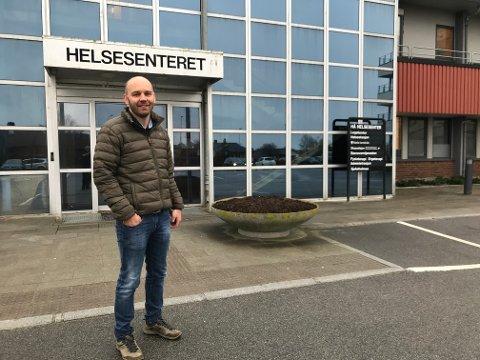 Anders G. Madsen, midlertidig kommuneoverlege i Hå