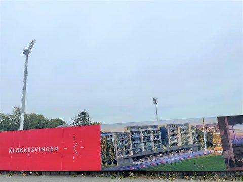 SELT: Team Bygg har kvitta seg med Klokkesvingen-prosjektet på Bryne stadion.