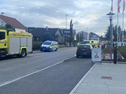 ULYKKE: Trafikkulykken skjedde på Reevegen ved M44.