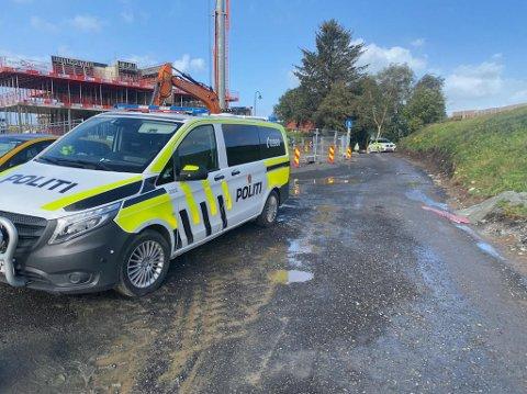 Politiet rykket ut til en arbeidsulykke i Klepp torsdag formiddag.
