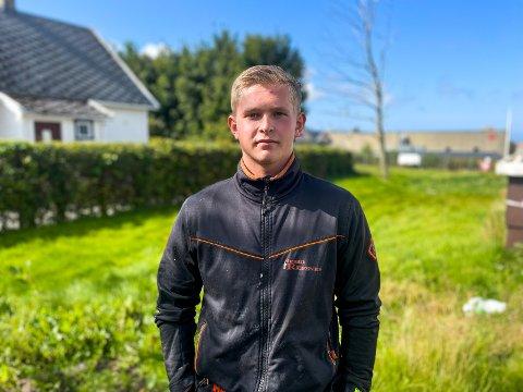 BOLIGEIER: Johan Gudmestad kjøpte bolig som 18.åring. I stedet for å leve boligdrømmen og flytte inn selv, valgte han å gjøre en investering og leie den ut.