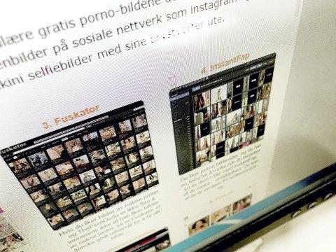 Nettporno florerer: Nå brukes det også som pressmiddel i svindelforsøk. Illustrasjonsfoto: Pål Nordby