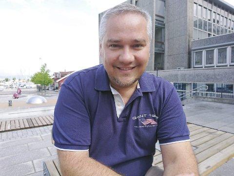 Ordfører? Jan Fredrik Vogt fra Sande Frp vil bli ordfører i nye Holmestrand.foto: Privat