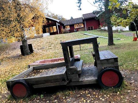 Eidsfoss Barnehage: Det er, per oktober, ingenting som tyder på at det kommer søknader om plass i Eidsfoss barnehage. I dag er kun halvparten av plassene i bruk.